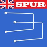 Spur wall mounted shelving uprights cantilever brackets - 250mmSpringWhite.jpg