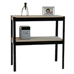 Boltless Office Shelving for files or Archive box storage - HD Boltless Frame 2 Tier.jpg