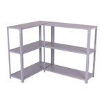 Lowest Price Shelving for Garage Shed Shelving Units ladder Brackets - Std3BoltedTwinDGr.jpg